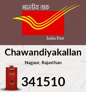 Chawandiyakallan Pincode - 341510
