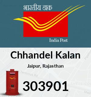 Chhandel Kalan Pincode - 303901