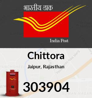 Chittora Pincode - 303904
