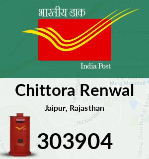 Chittora Renwal Pincode - 303904