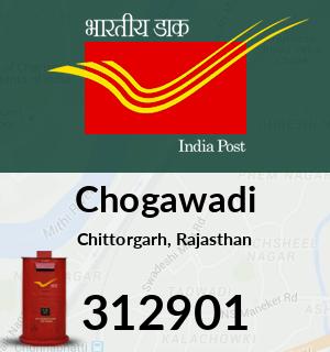 Chogawadi Pincode - 312901