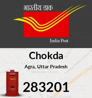 Chokda Pincode - 283201