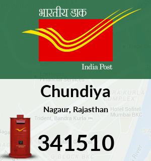 Chundiya Pincode - 341510