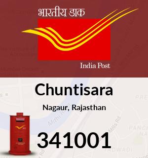 Chuntisara Pincode - 341001