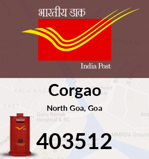 Corgao Pincode - 403512