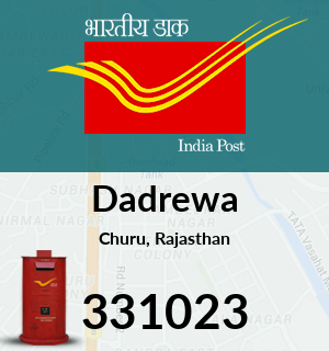 Dadrewa Pincode - 331023