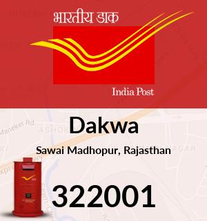 Dakwa Pincode - 322001