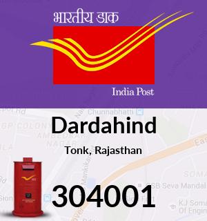 Dardahind Pincode - 304001