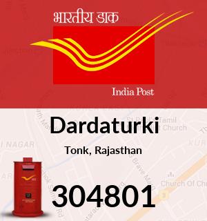 Dardaturki Pincode - 304801