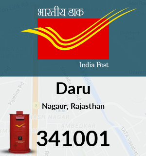 Daru Pincode - 341001