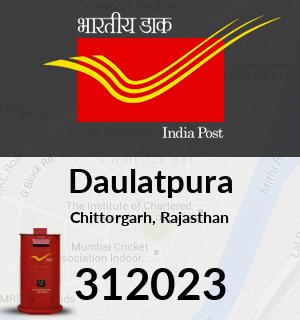 Daulatpura Pincode - 312023