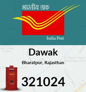 Dawak Pincode - 321024