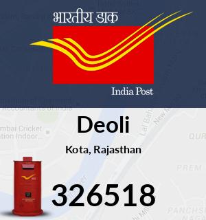 Deoli Pincode - 326518