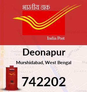 Deonapur Pincode - 742202