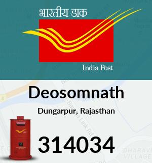 Deosomnath Pincode - 314034