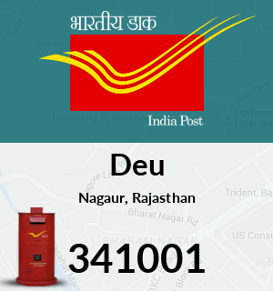 Deu Pincode - 341001