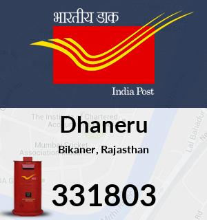 Dhaneru Pincode - 331803