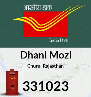 Dhani Mozi Pincode - 331023