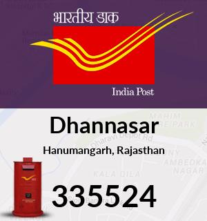 Dhannasar Pincode - 335524