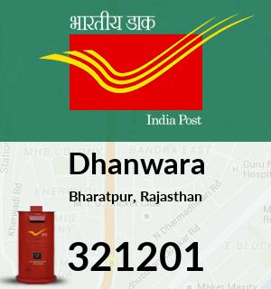 Dhanwara Pincode - 321201