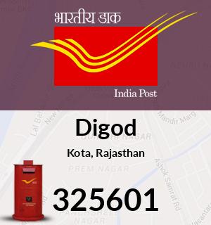 Digod Pincode - 325601