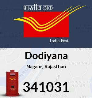 Dodiyana Pincode - 341031