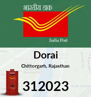 Dorai Pincode - 312023