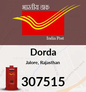 Dorda Pincode - 307515