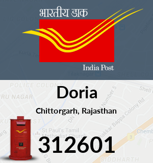 Doria Pincode - 312601