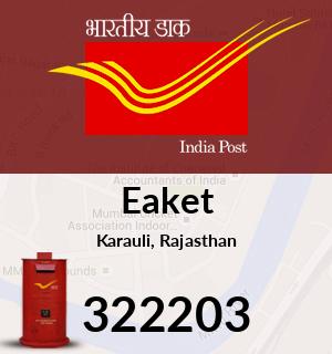 Eaket Pincode - 322203