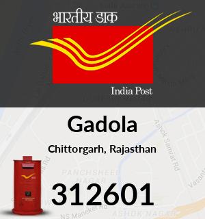Gadola Pincode - 312601