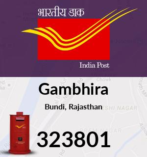 Gambhira Pincode - 323801
