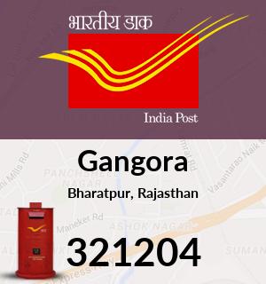 Gangora Pincode - 321204