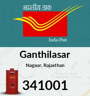 Ganthilasar Pincode - 341001