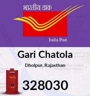 Gari Chatola Pincode - 328030