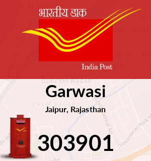 Garwasi Pincode - 303901