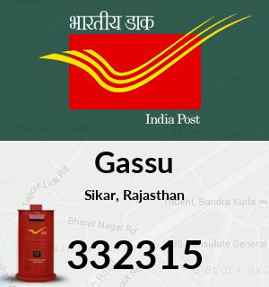 Gassu Pincode - 332315