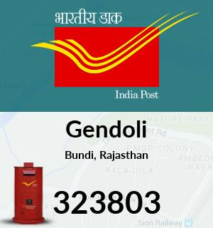 Gendoli Pincode - 323803