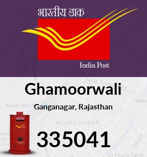 Ghamoorwali Pincode - 335041