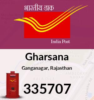 Gharsana Pincode - 335707