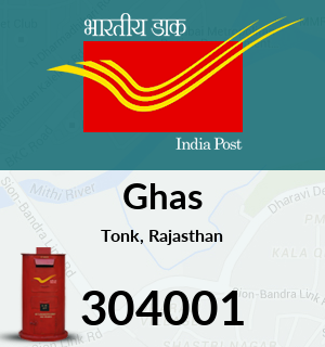 Ghas Pincode - 304001