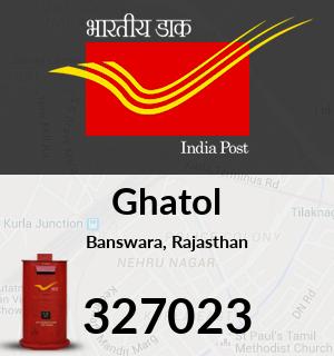 Ghatol Pincode - 327023