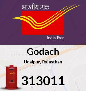 Godach Pincode - 313011