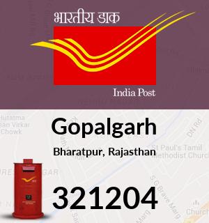 Gopalgarh Pincode - 321204