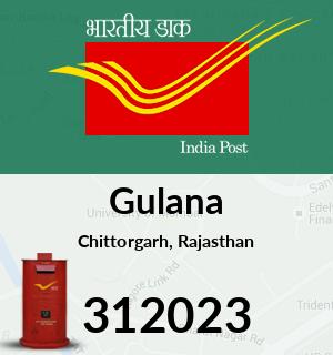 Gulana Pincode - 312023
