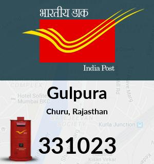 Gulpura Pincode - 331023