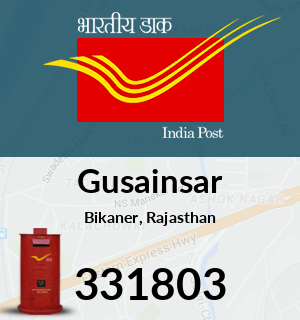Gusainsar Pincode - 331803