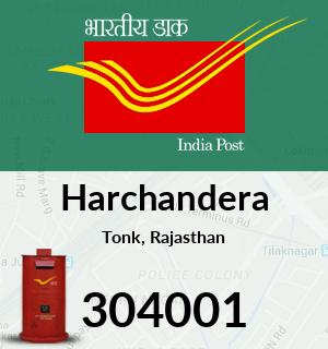 Harchandera Pincode - 304001