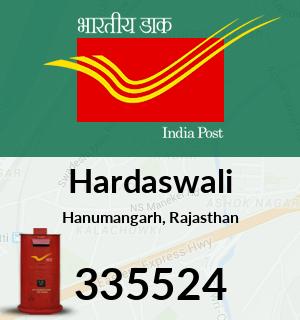 Hardaswali Pincode - 335524