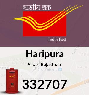 Haripura Pincode - 332707